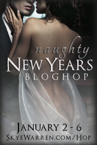 Naughty New Year's blog hop button