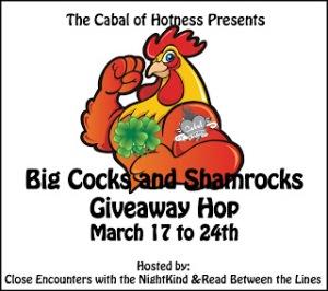 Big Cocks and Shamrocks Giveaway Hop