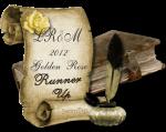 Love Romance and More Golden Rose Award runner-up button