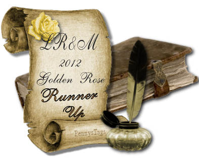 Love Romance and More Golden Rose Award runner-up button