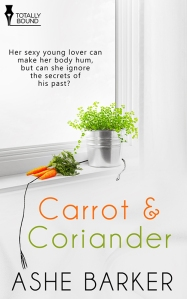Ashe Barker 3 - Carrot and Coriander cover 3-24-14